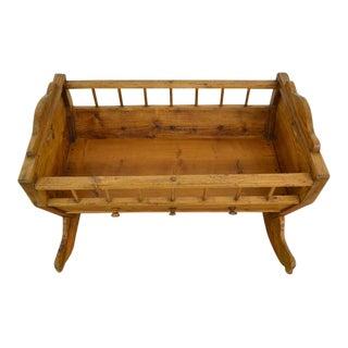 Pine Rocking Cradle For Sale