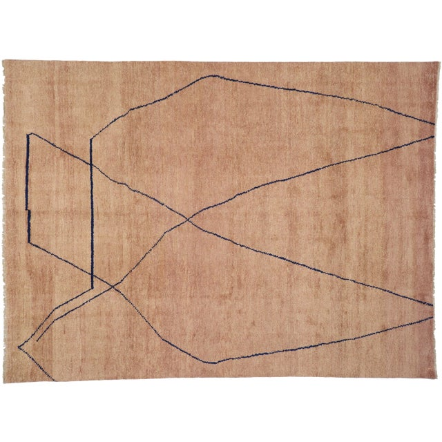 Moroccan Contemporary Rug - 10'00 X 13'06 For Sale