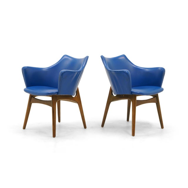 Adrian Pearsall Dining Chairs, Set of Four - Image 2 of 10
