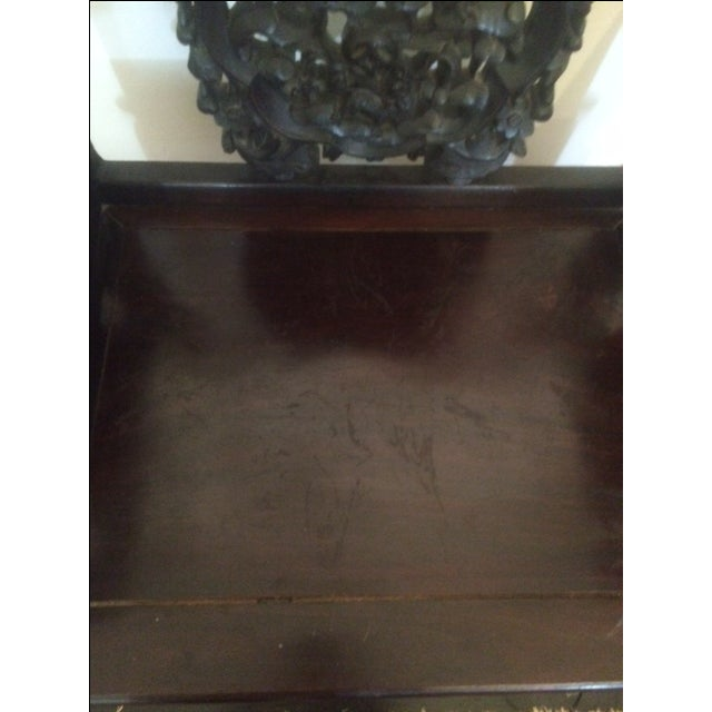 Antique Chinese Throne Chair For Sale - Image 7 of 8
