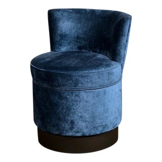 Hollywood Regency Velvet Vanity Chair
