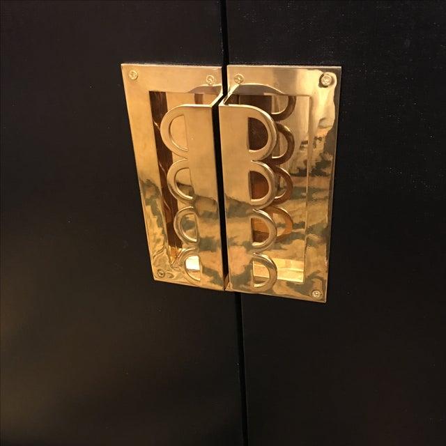 Hollywood Regency Barclay Butera Palisades Bar - Image 5 of 10