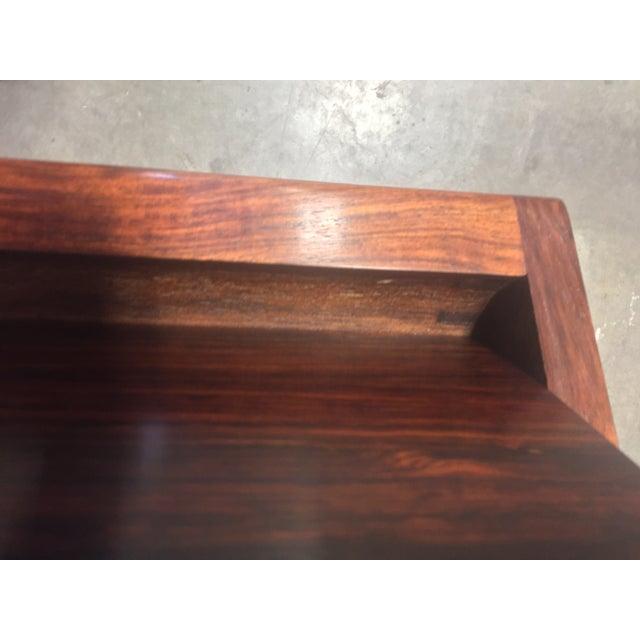 Midcentury Torbjørn Afdal Rosewood Desk For Sale In Seattle - Image 6 of 9
