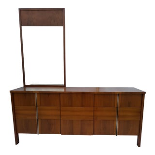 1960's John Widdicomb Credenza By Dale Ford For Sale