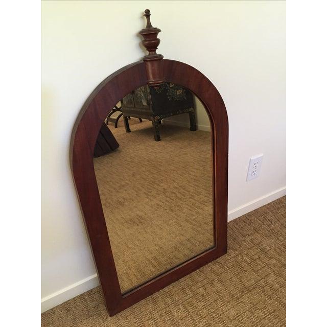 Antique Wood Framed Mirror - Image 2 of 6