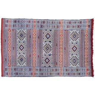 Moroccan Berber Rug - 8'1'' X 5'3'' For Sale