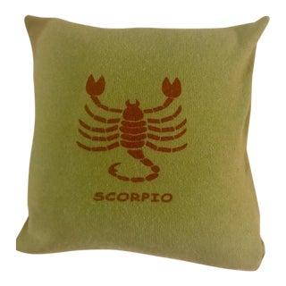 "Armand Diradourian Cashmere ""Scorpio"" Accent Pillow"