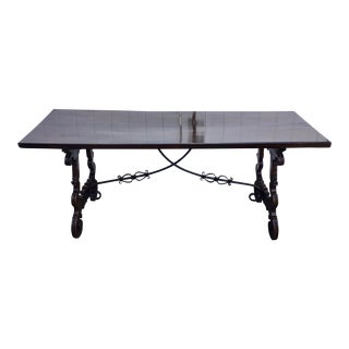 18th Century Spanish Trestle Table For Sale