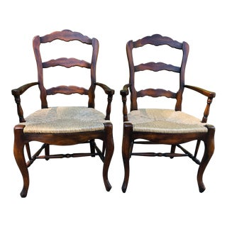 French Provincial Armchairs - a Pair For Sale
