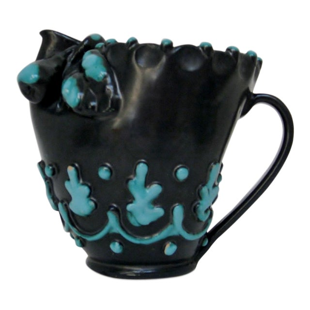 Italian Ceramic Pitcher For Sale