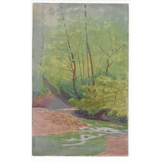 1920s Arts and Crafts California Landscape by Harnett For Sale