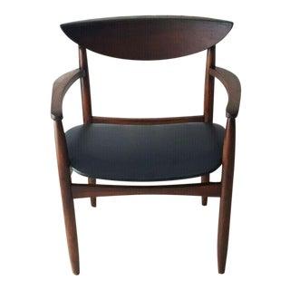 Lane Perception Mid Century Modern Arm Chair For Sale