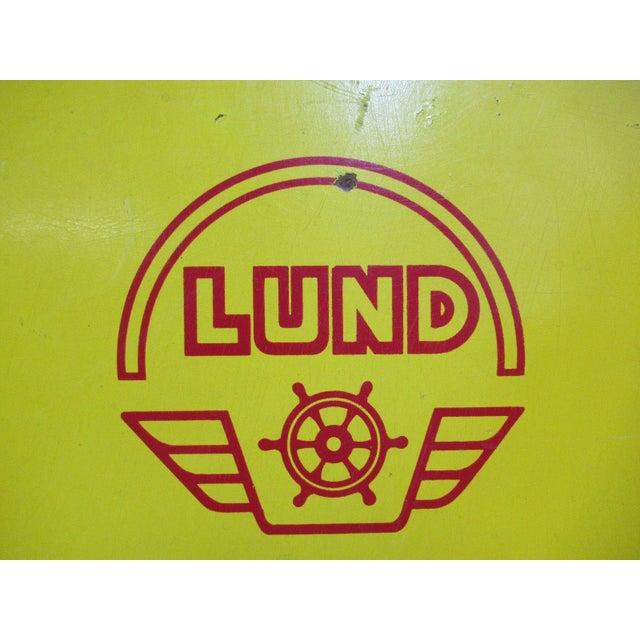 Vintage Lund Wake Board Ski Tow Behind - Image 3 of 8