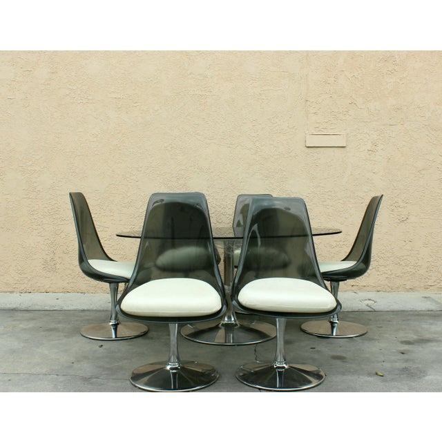 1970s Vintage Chromecraft Space Age Dining Set For Sale In Los Angeles - Image 6 of 6