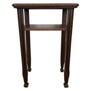 Craftsman Mahogany Console Table