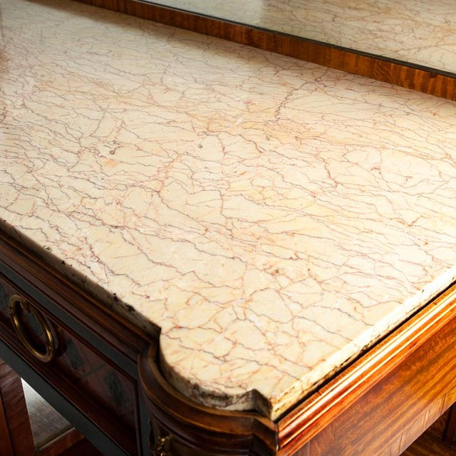 Louis XV Marble-Top Server For Sale - Image 4 of 6