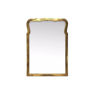 La Barge Style Mirror With Florets For Sale