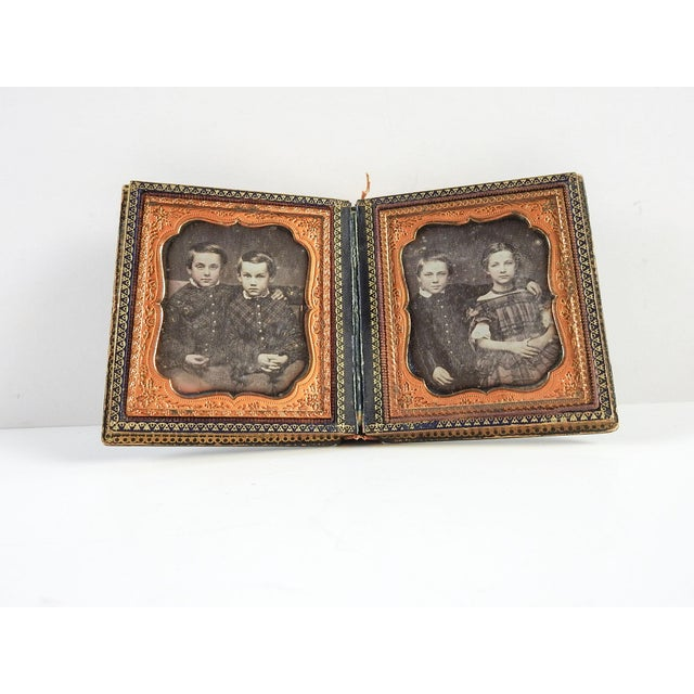 Mother of Pearl & Silver Inlay Daguerreotype Case - Image 2 of 6