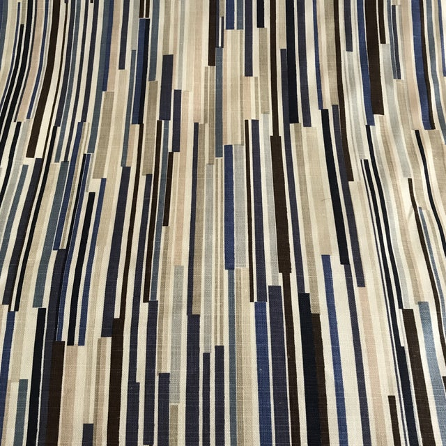 """Christopher Farr """"Scaffolding"""" Fabric - 4 Yards For Sale - Image 5 of 6"""
