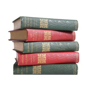Turn of Century Novels: Charles Lever - Set of 5