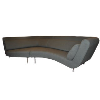 1990s French Ligne Roset Ying-Yang Sofa Sectional For Sale