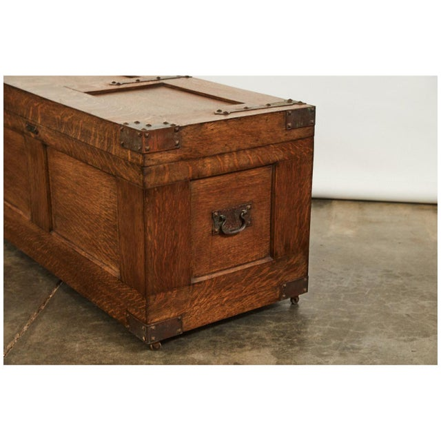 Arts & Crafts Trunk For Sale - Image 4 of 9