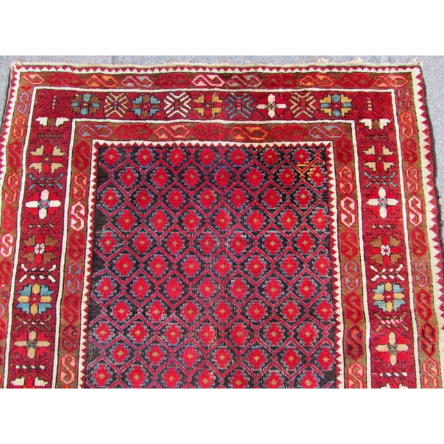 1910s, Handmade Antique Afghan Baluch Rug 3.1' X 5.9' For Sale - Image 9 of 13