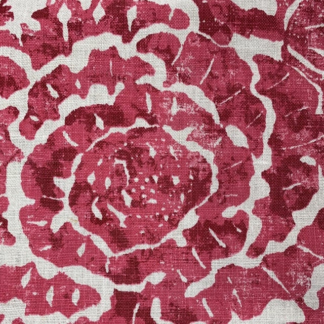 Traditional Carolina Irving Exotic Bloom Fabric For Sale - Image 3 of 5