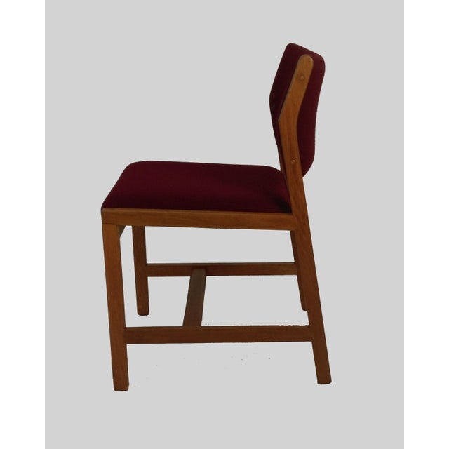 Frederica Stolefabrik Borge Mogensen Model 3241 Dining Chairs, 1970s - Set of 6 For Sale - Image 4 of 7