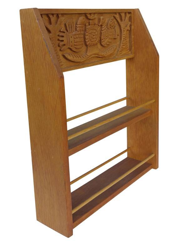 Evelyn And Jerome Ackerman Mid Century Spice Rack, Era Industries   Image 2  Of