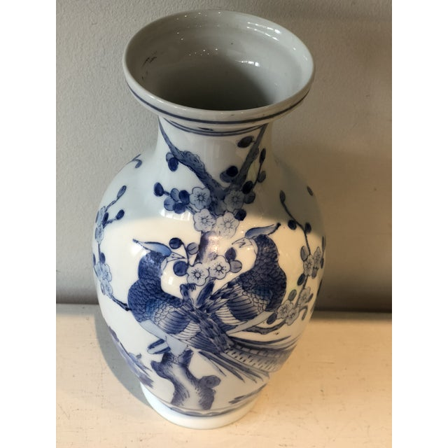 Blue & White Jar For Sale - Image 4 of 7