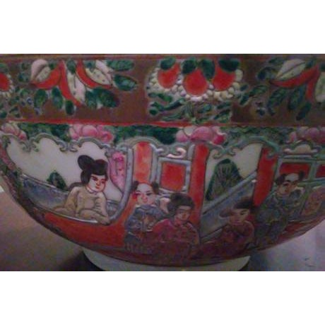 Chinese Famille Medallion Bowl For Sale - Image 4 of 7