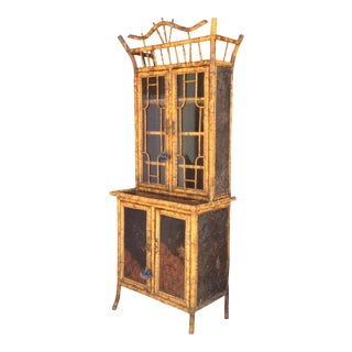 Antique Bamboo Cabinet