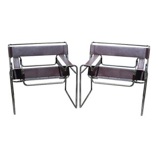 Marcel Breuer Wassily Chairs - A Pair