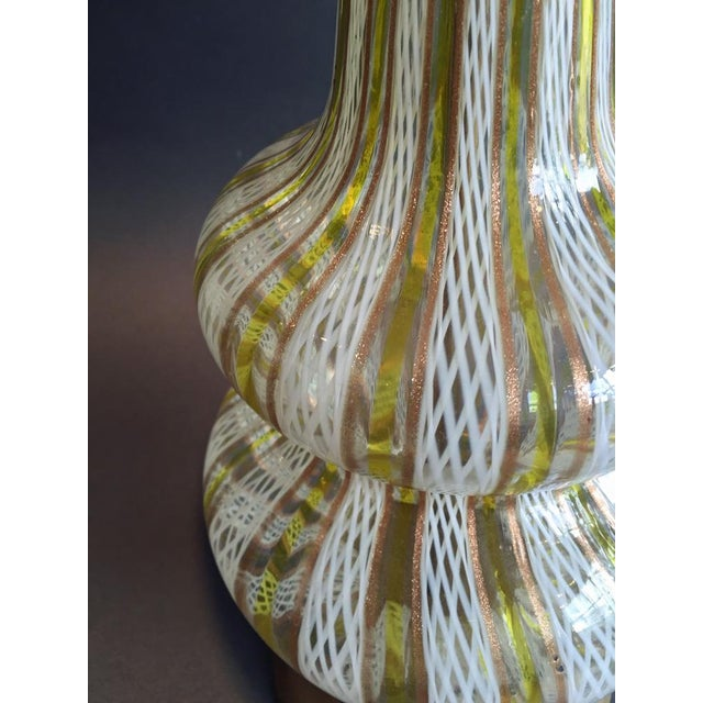 Murano Glass Table Lamp - Image 3 of 4
