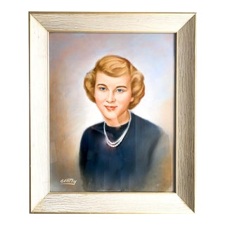 1960s Gentry Galleries Custom Woman in Pastel For Sale
