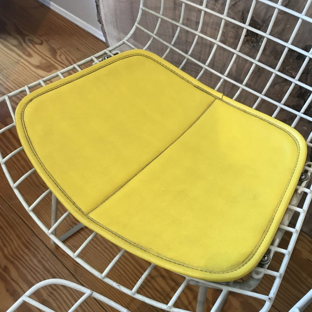 1950s 1950s Vintage Harry Bertoia Child's Chairs - Set of 3 For Sale - Image 5 of 11