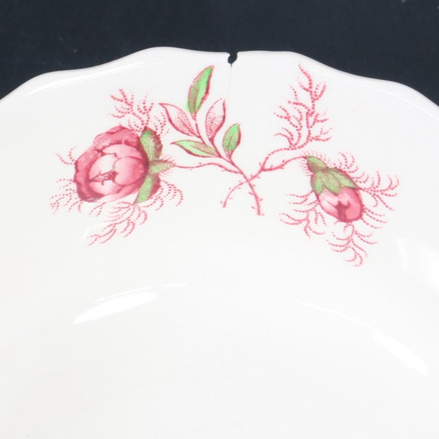 Vintage Copeland Spode Rosebud Chintz China Dinnerware Set - 124 Piece Set For Sale - Image 9 of 13