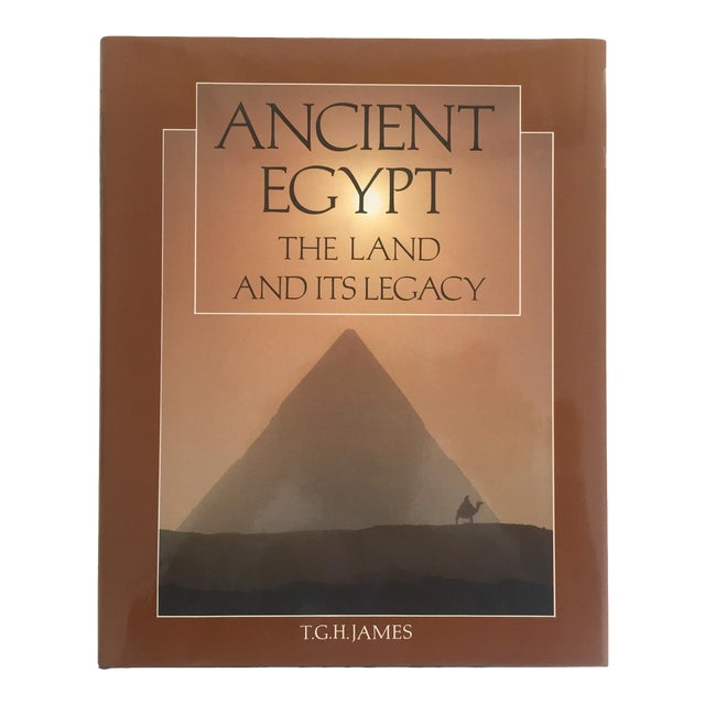 """ Ancient Egypt the Land & Its Legacy "" Vintage 1990 Cultural Arts Hardcover Book For Sale"