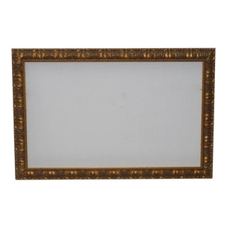 Early 20th Century Carved & Gilded Frame c.1930 For Sale