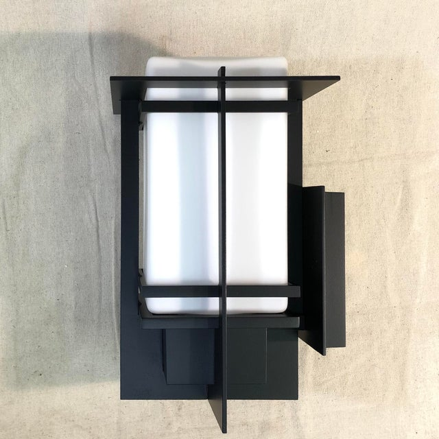 Hubbardton Forge Tourou Outdoor Wall Light Lantern For Sale - Image 4 of 10