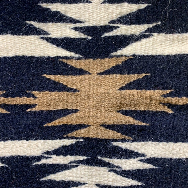 """Native American 1960s Vintage Navajo Pictorial Rug-2'4'x3'8"""" For Sale - Image 3 of 13"""