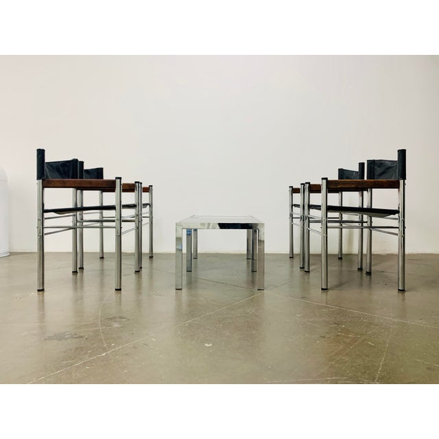 Chrome 1970s Milo Baughman Side Tables - a Pair For Sale - Image 8 of 10