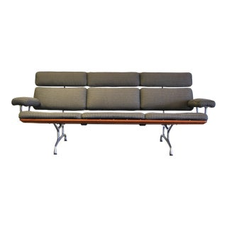 1980s Eames Model Es108 Sofa in Alexander Girard Fabric For Sale