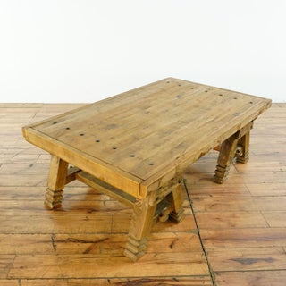 Rustic Pottery Barn Pine Coffee Table Preview