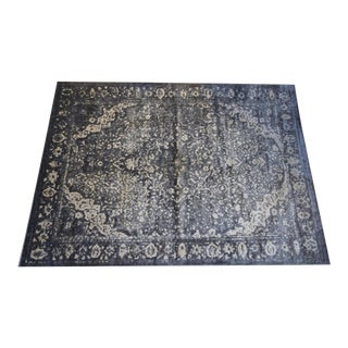"Elton Slate & Ivory Rug by Loloi-7' 7"" X 10' 5"" For Sale"