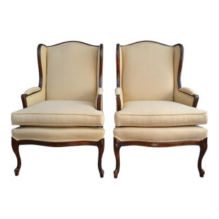 HistOric Wingback Armchairs, 1950s - A Pair
