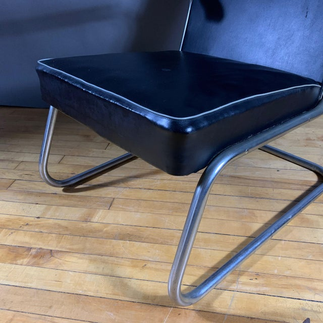 1950s 1950s Drabert Germany Cantilever Armchair For Sale - Image 5 of 12