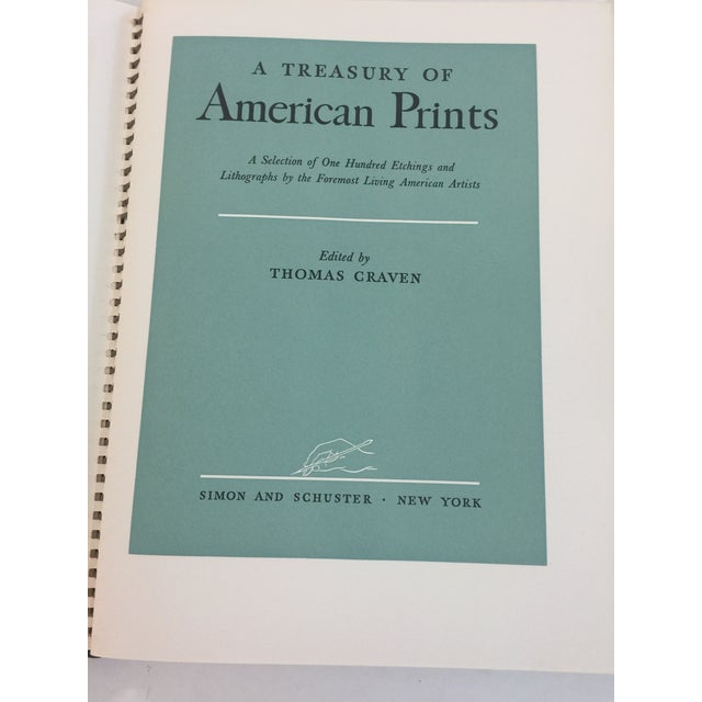 Americana 1939 Treasury of American Prints Benton , Wood, Curry, Hopper For Sale - Image 3 of 6