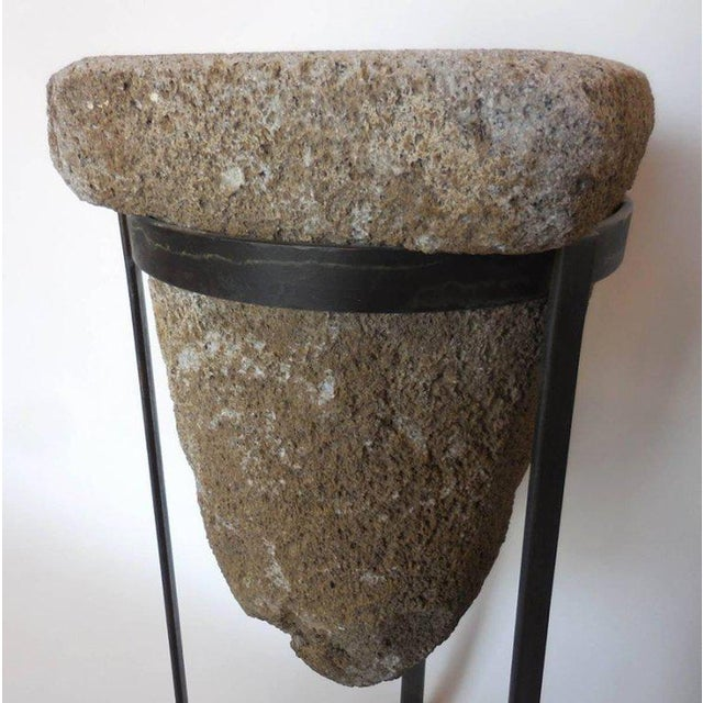 Early 19th Century Pair of 19th Century Stone Water Filters on Bases For Sale - Image 5 of 10